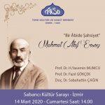 Panel: Mehmet Akif ERSOY