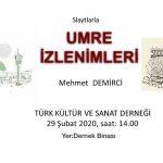 Slaytlarla Umre İzlenimleri - Prof. Dr. Mehmet Demirci